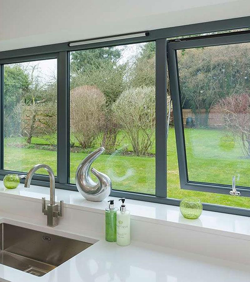 Ventanas aluminio pamplona ventanas pvc pamplona for Ventanas aluminio gris antracita