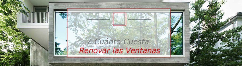 Cu nto cuesta renovar las ventanas de tu casa ventanas for Cuanto cuesta el aluminio para ventanas