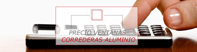Precio ventanas de aluminio correderas ventanas pamplona for Correderas de aluminio precios