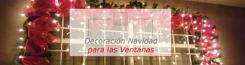 Decoraci n de navidad para tus ventanas ventanas pamplona - Decoracion pamplona ...