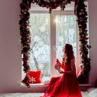 Cómo-decorar-las-ventanas-por-Navidad